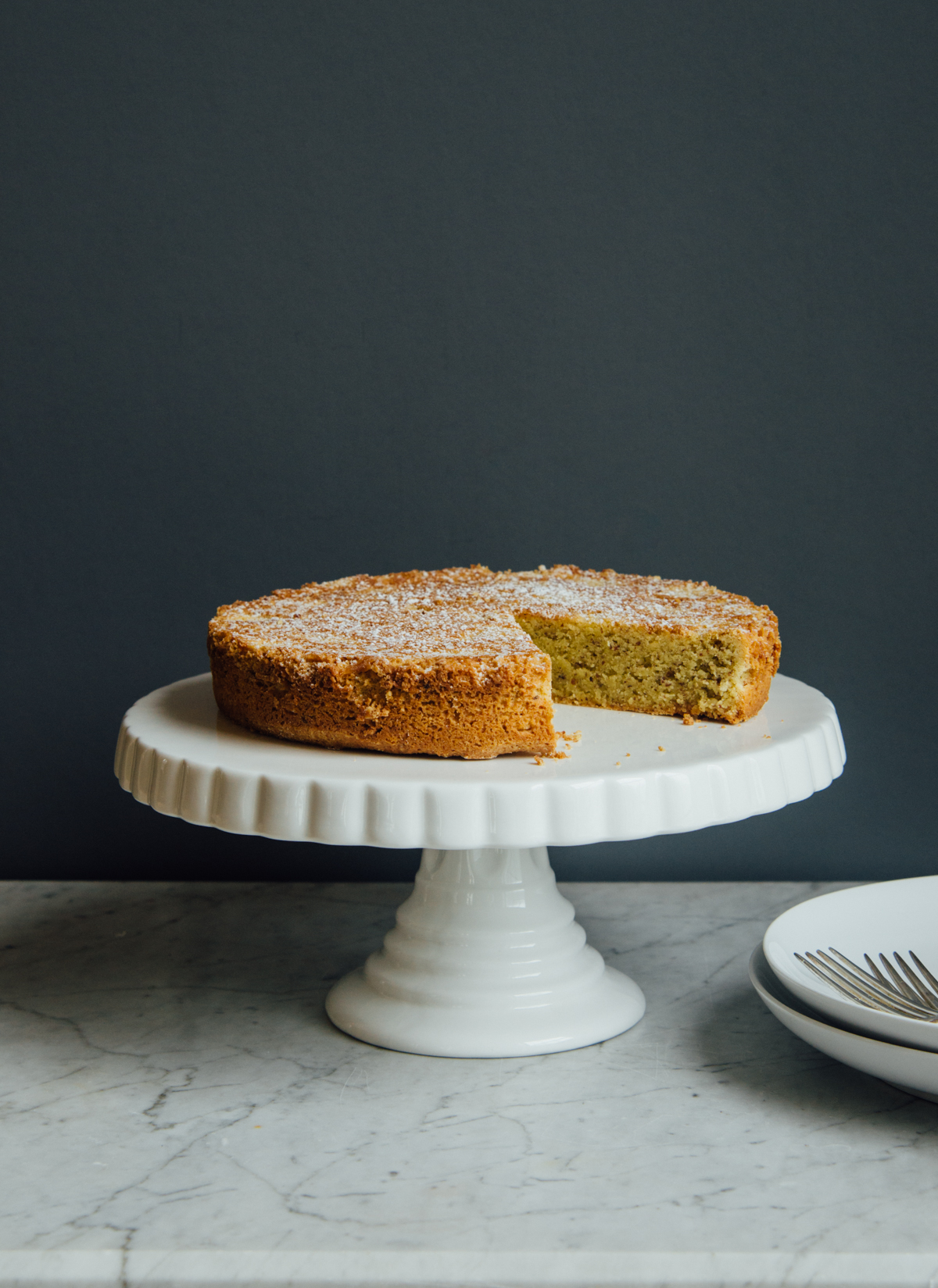 Gluten Free Almond Cake     Photo: Melissa DiPalma