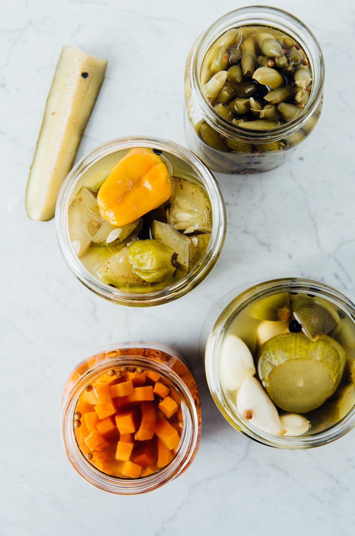 No more soggy, neon yellow, mass-produced pickles...bold flavors, spices & lots of crunch instead.