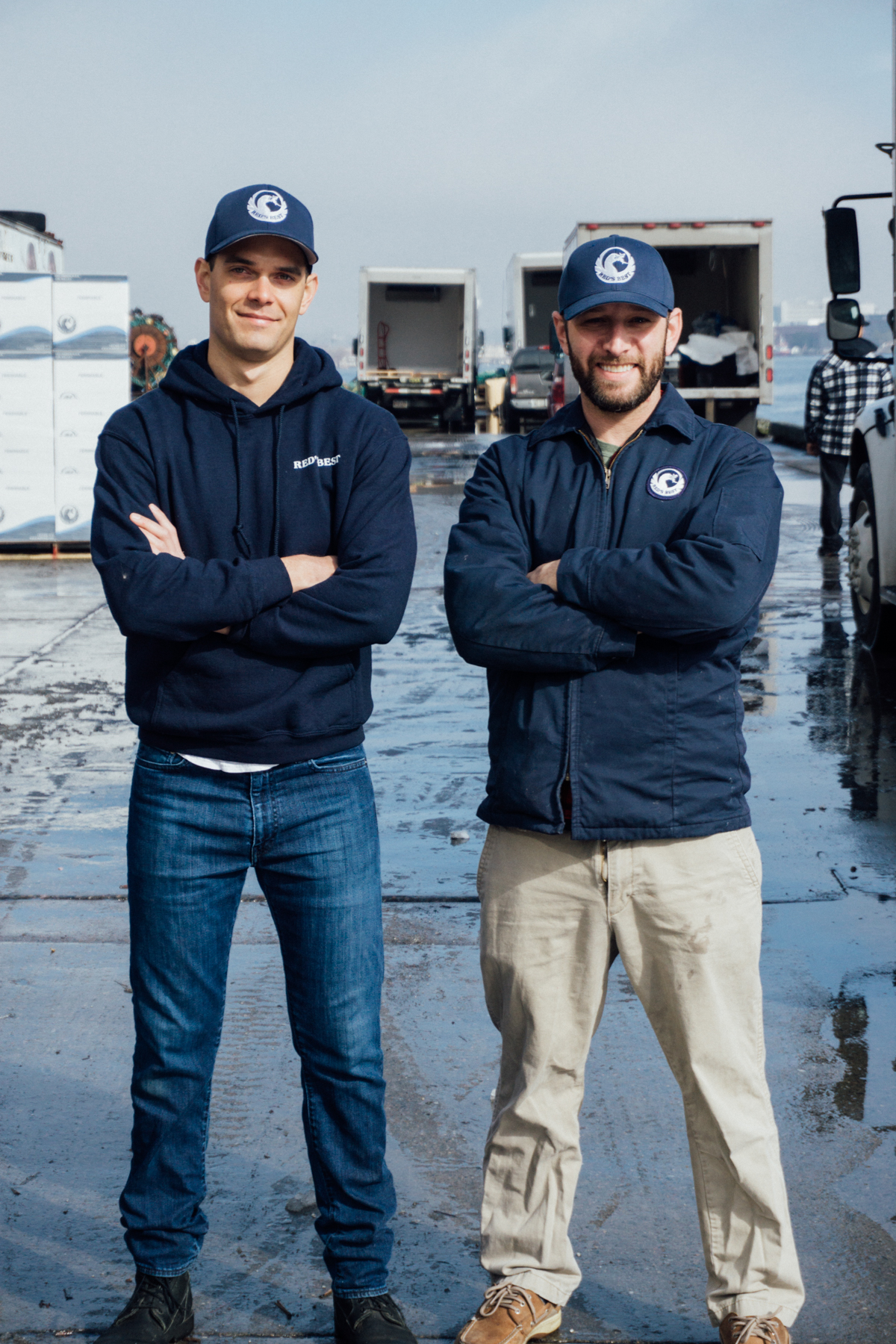 CEO & Founder, Jared Auerbach (on right), Retail Operations Manager, Ryan Rasys.