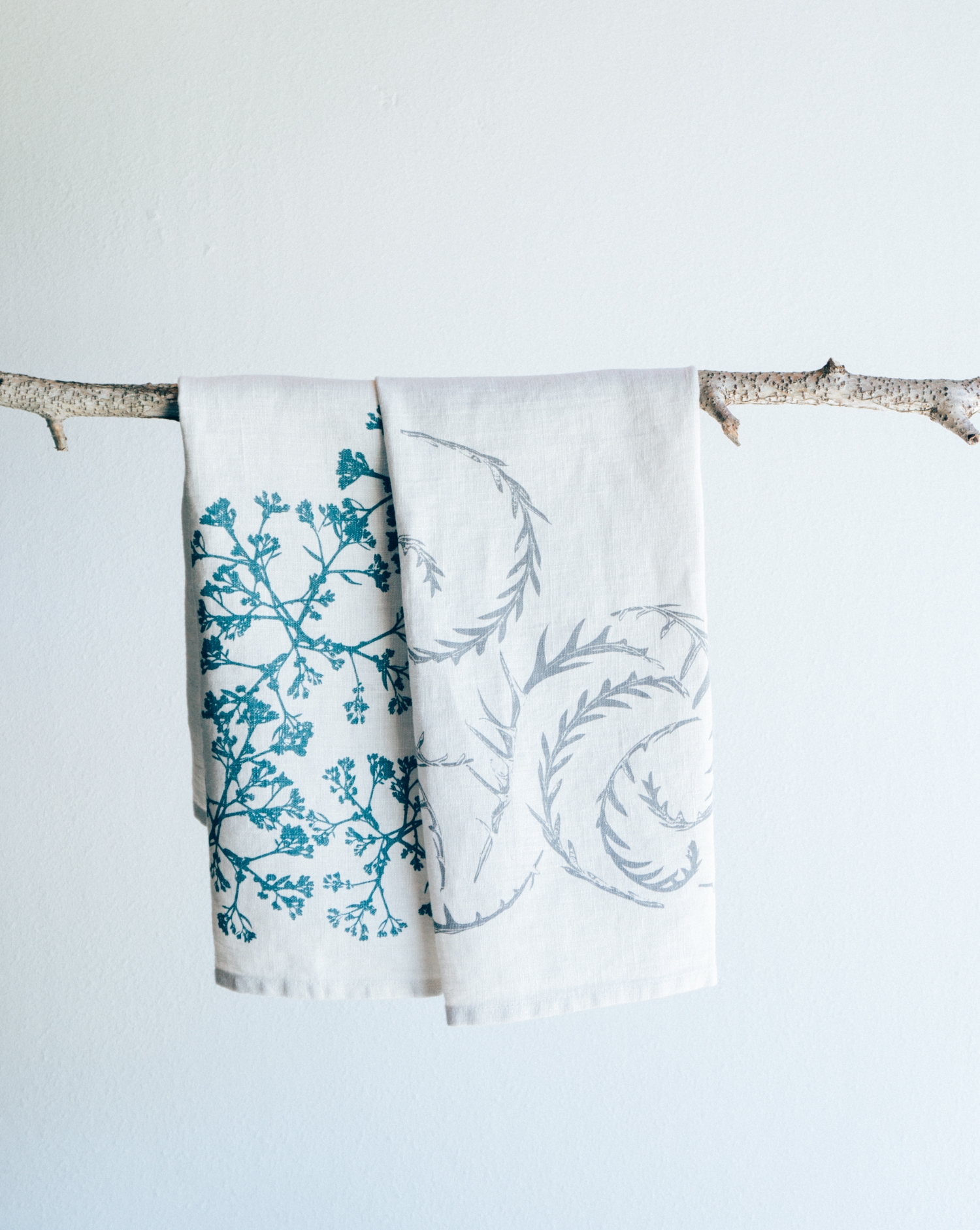 Regionally inspired and locally produced textiles for the kitchen and home.