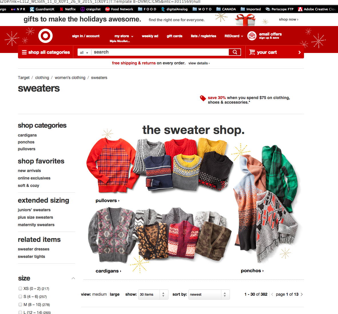 Client: Target