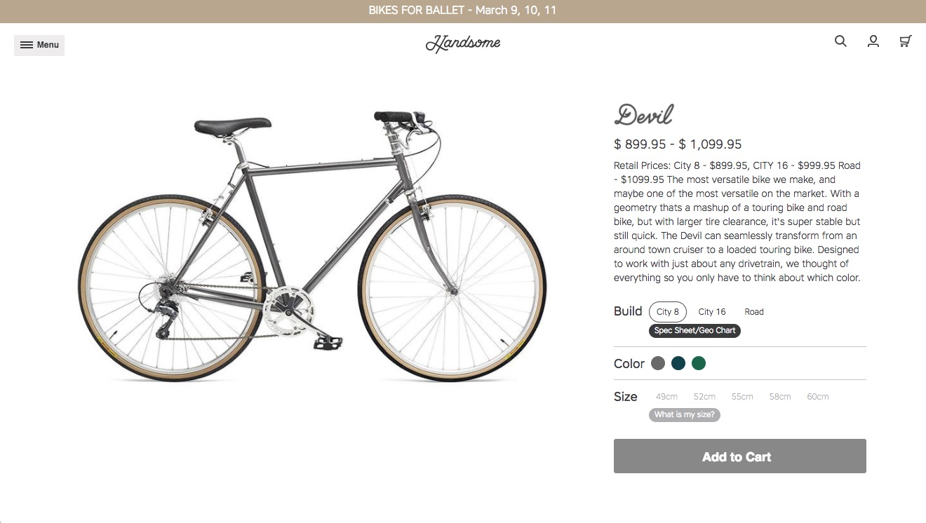 Client: Knock Inc. for Handsome Cycles