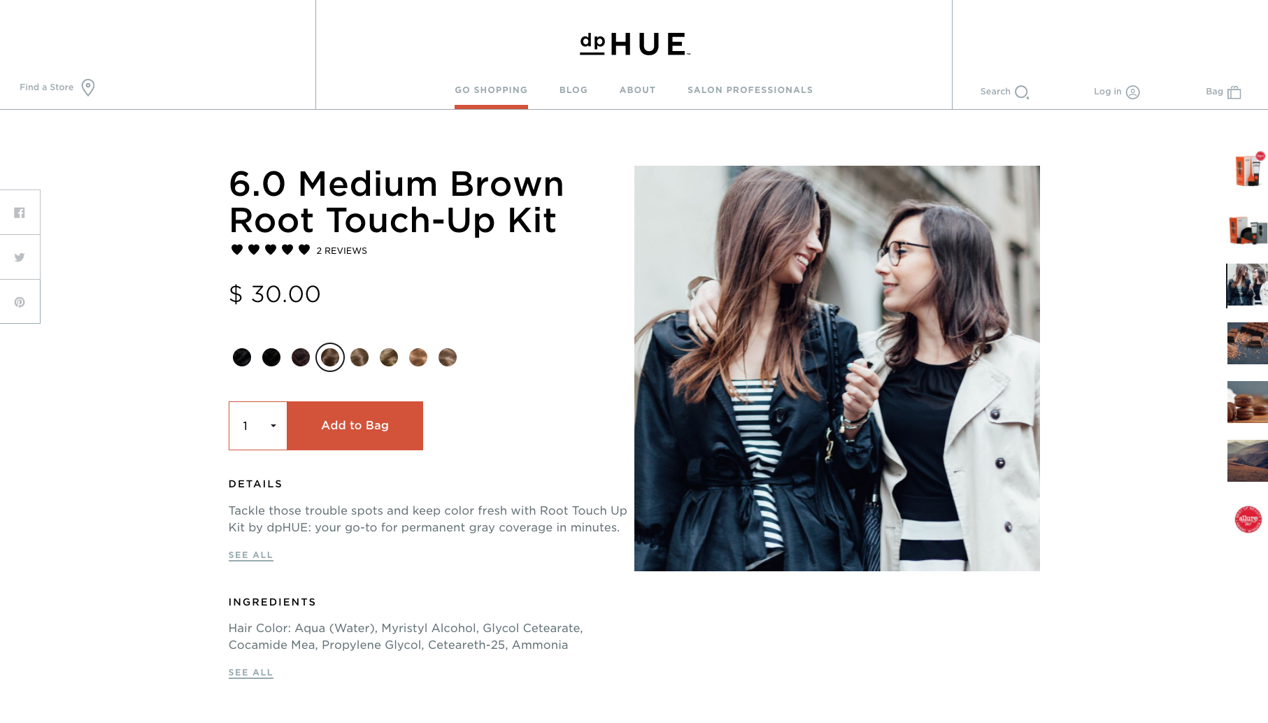 Client: Knock Inc. for DP Hue