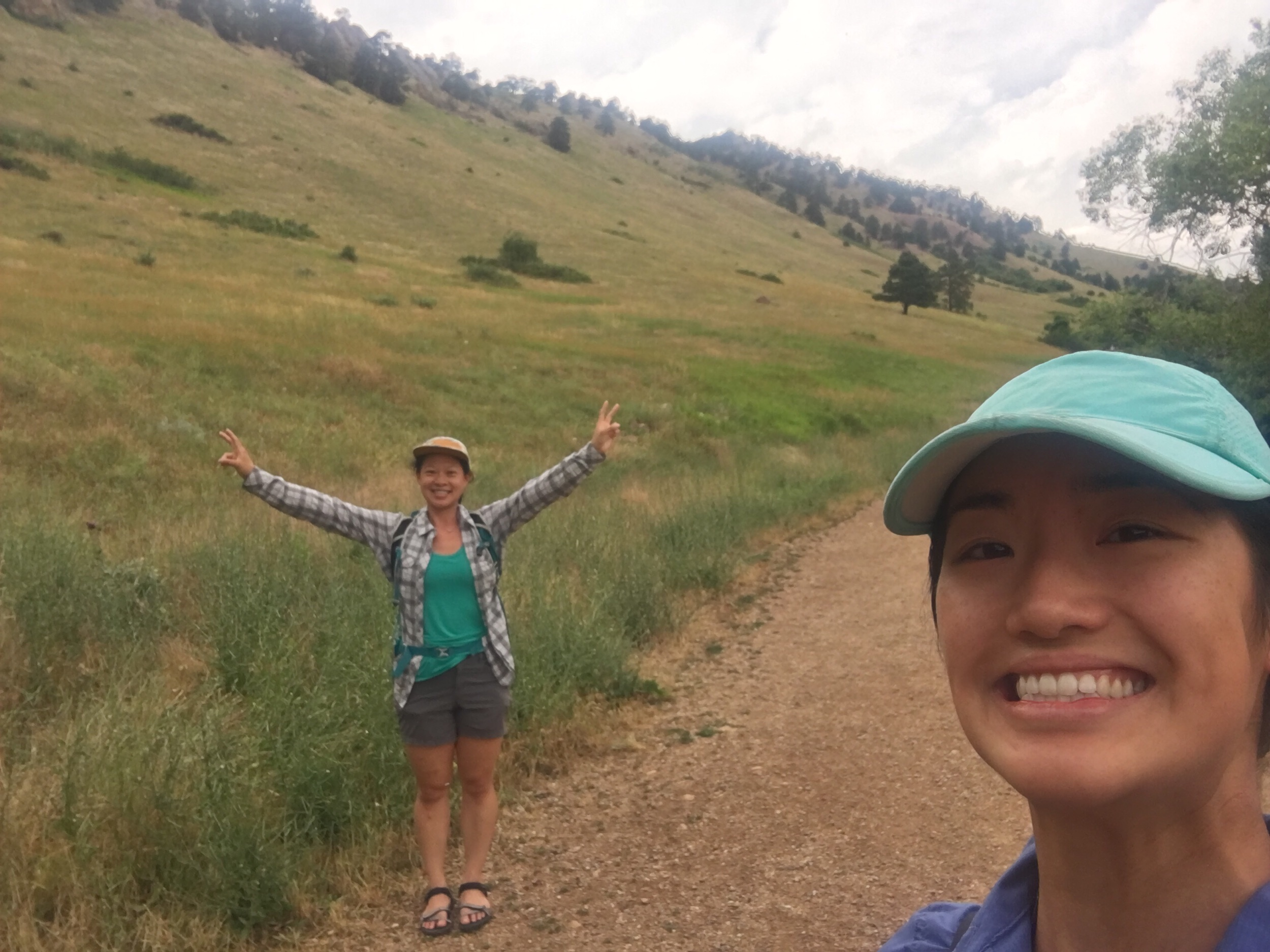During our very short hike near Mt Sanitas.