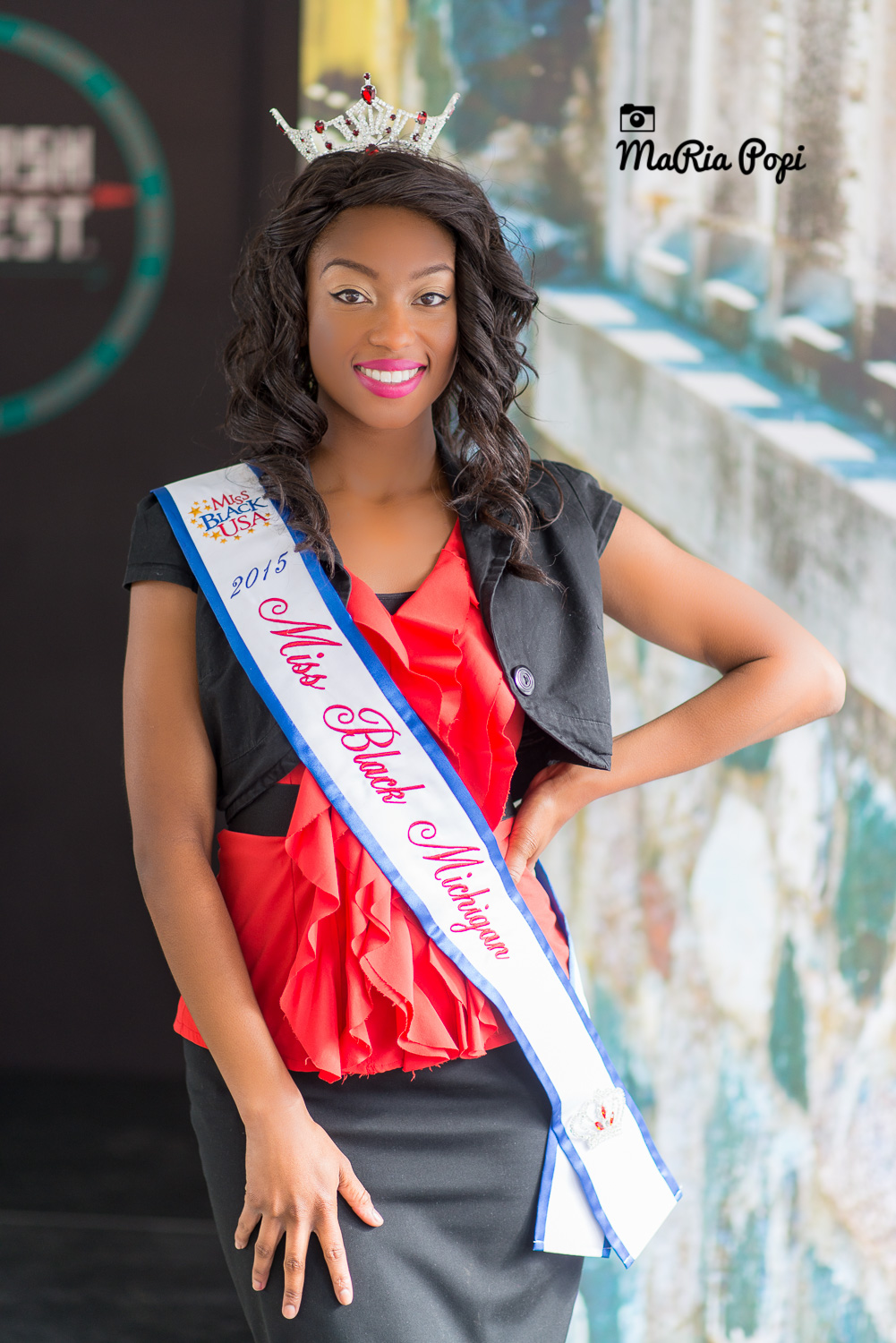 Miss Black Michigan 2015 Ashley Jones