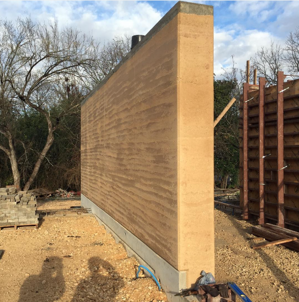 Completed wall at phase II of the 3050 Eisenhauer project