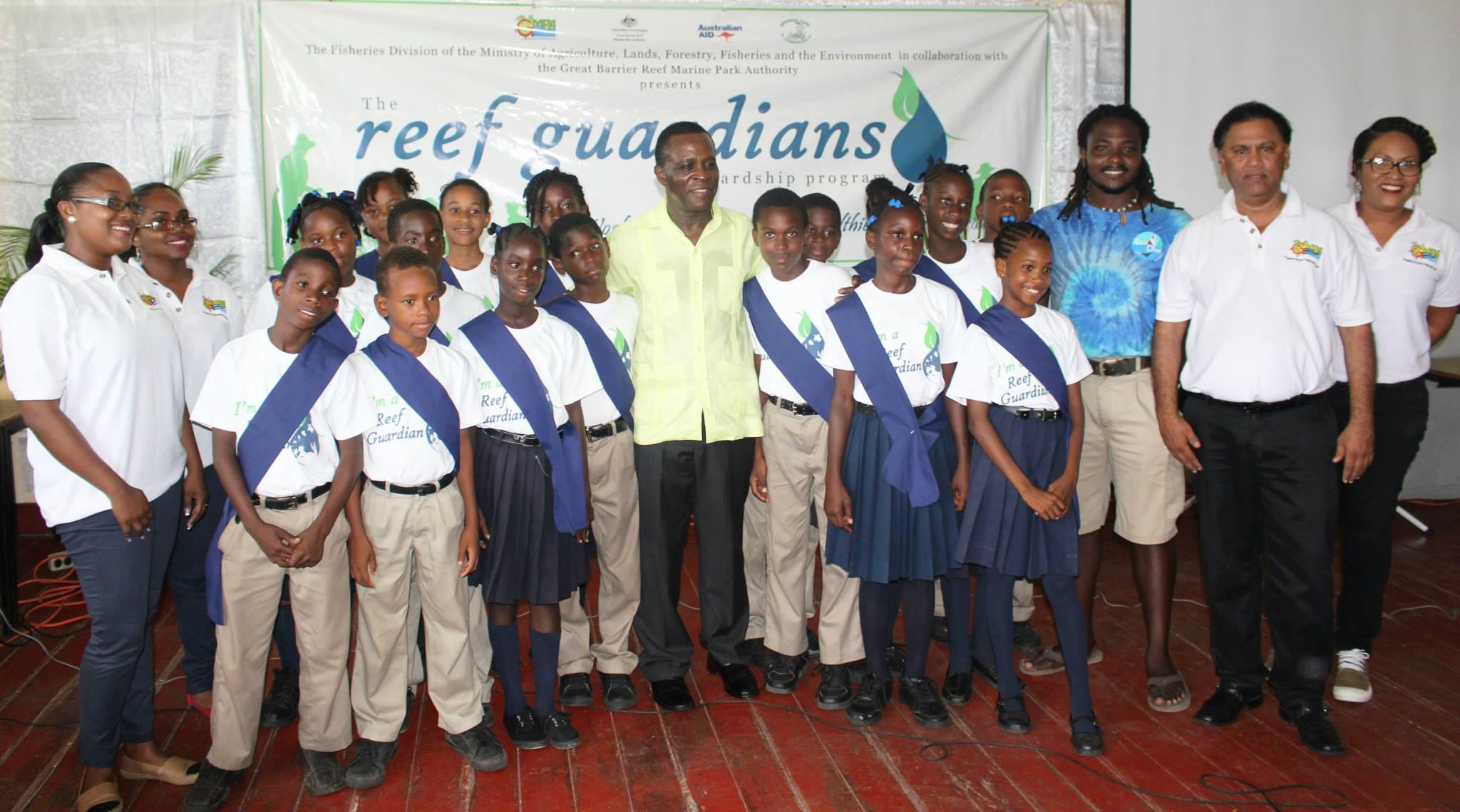 Launch of Reef Guardians Program in Grenada.