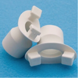 Pulmonary Function Disposable Rubber Mouthpiece
