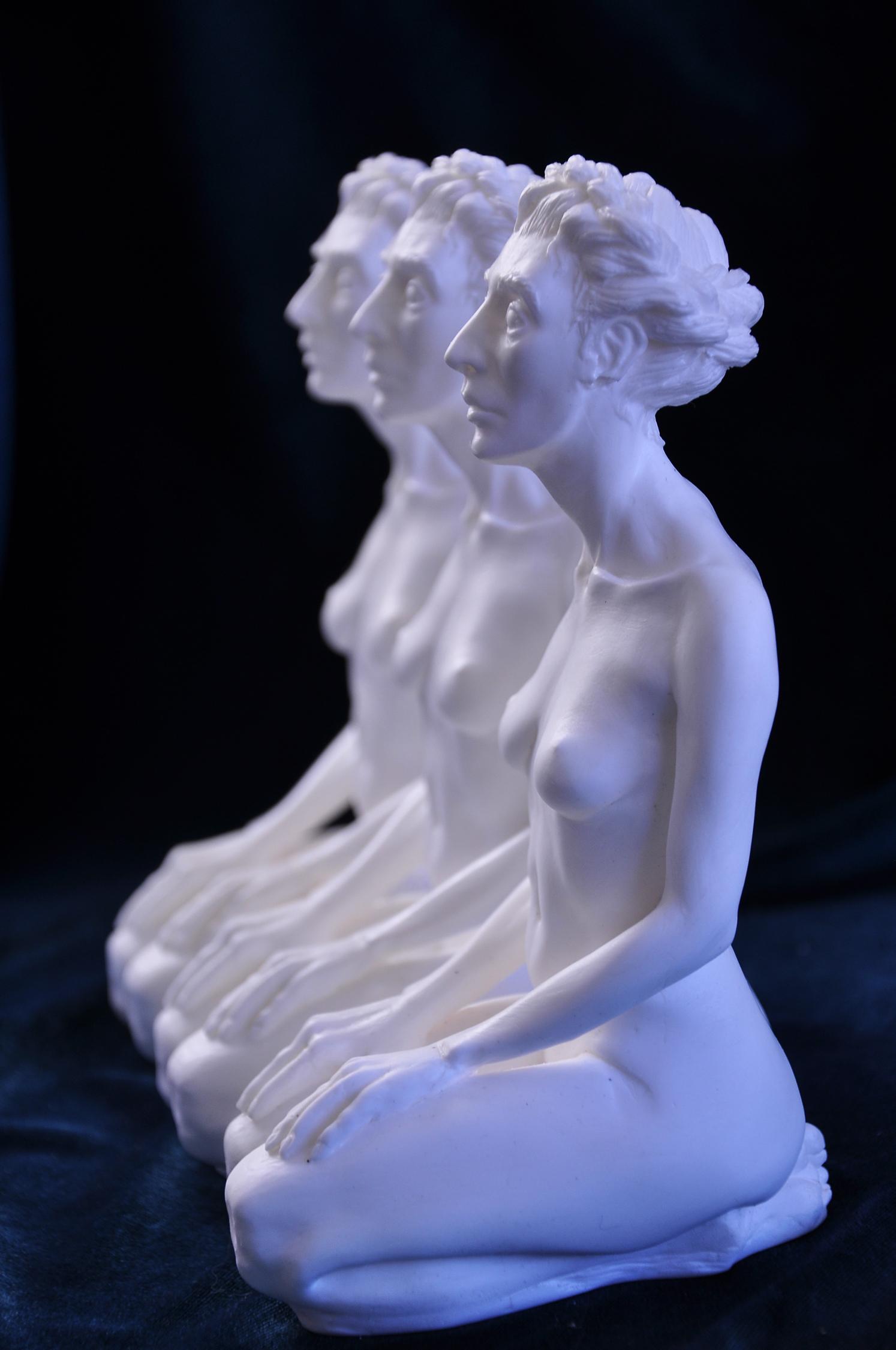 Figure Cast in Resin