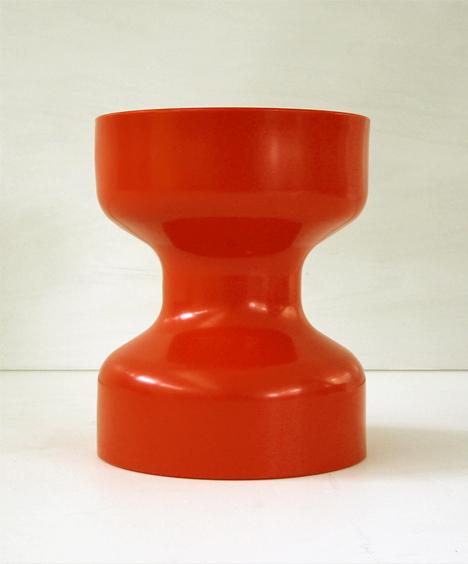 korban flaubert_tangerine tuff stool