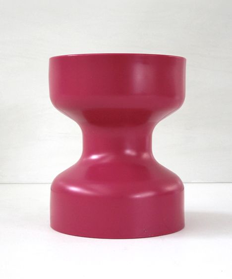 korban flaubert_magenta tuff stool