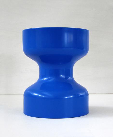 korban flaubert_dark blue tuff stool