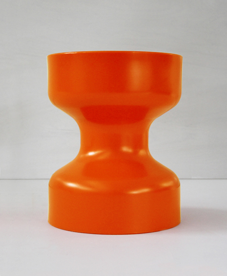 korban flauber_orange tuff stool