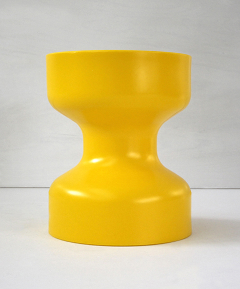 korban flaubert_yellow tuff stool