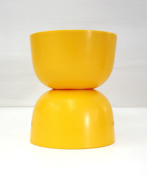 korban flaubert_yellow bubble stool