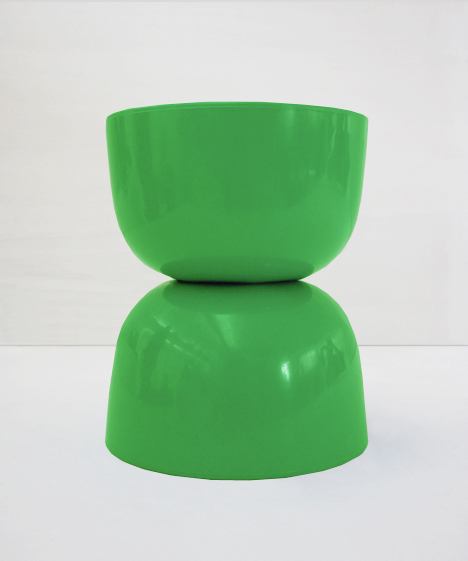 korban flaubert_leaf green bubble stool