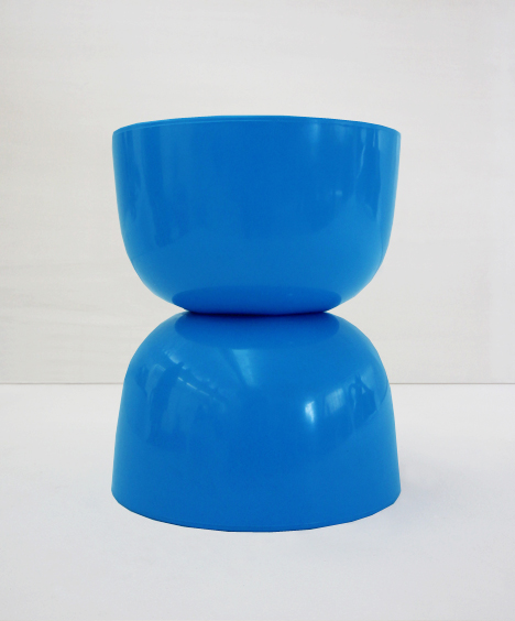 korban flaubert_blue bubble stool