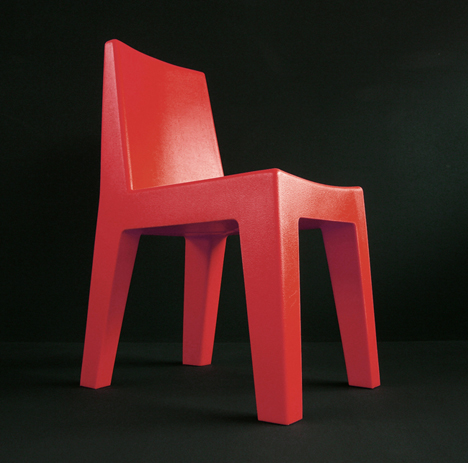 korban flaubert_red mighty chair