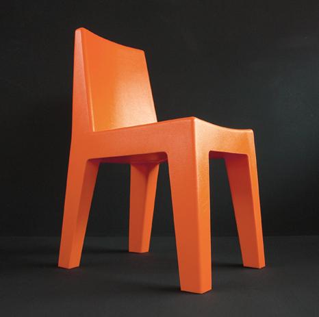 korban flaubert_orange mighty chair
