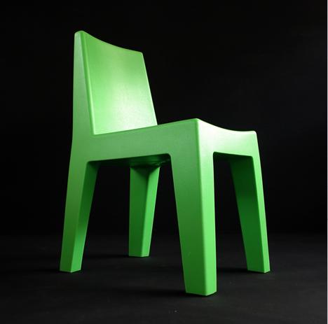 korban flaubert_leaf green mighty chair