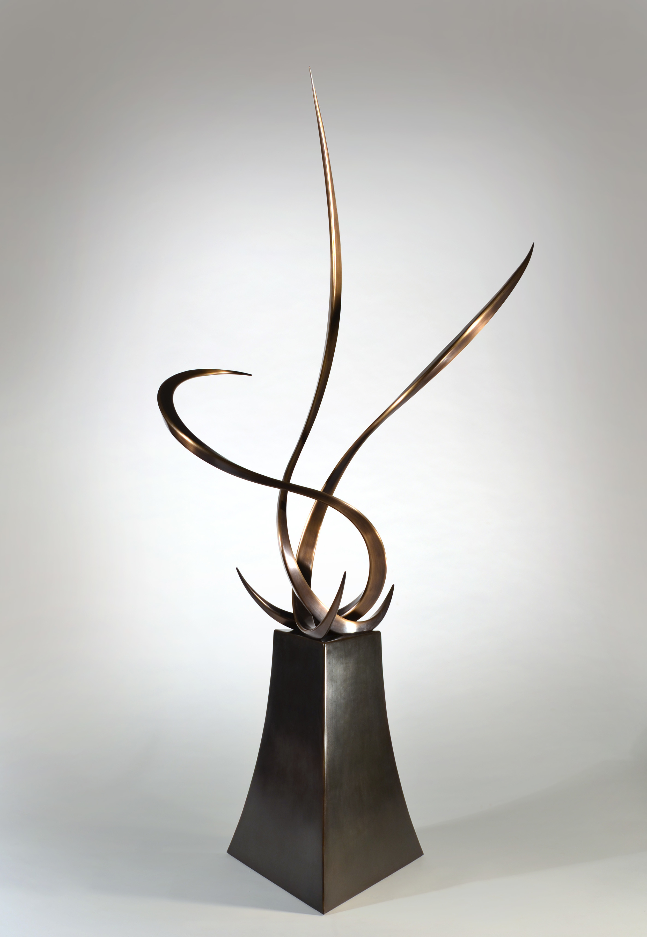 Untitled , Bronze &Steel, 7' x 3' x 3', 2013