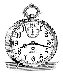 alarm clock vintage image graphicsfairy6b.jpg