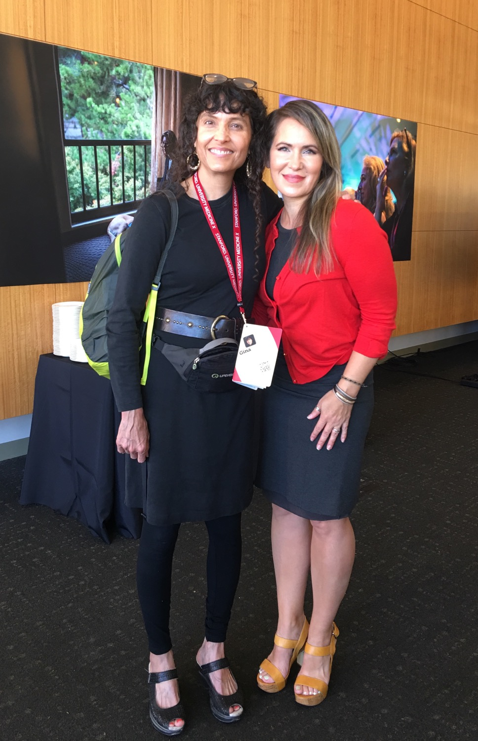 I am in black and with me is Kyra Bobinet, MD, MPH of drkyrabobinet.com