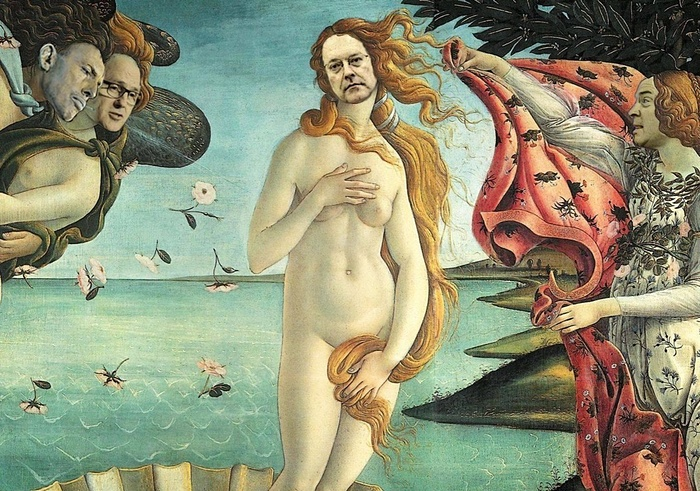 George Brandis Botticelli