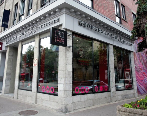 Georges Laoun's flagship store in Montreal