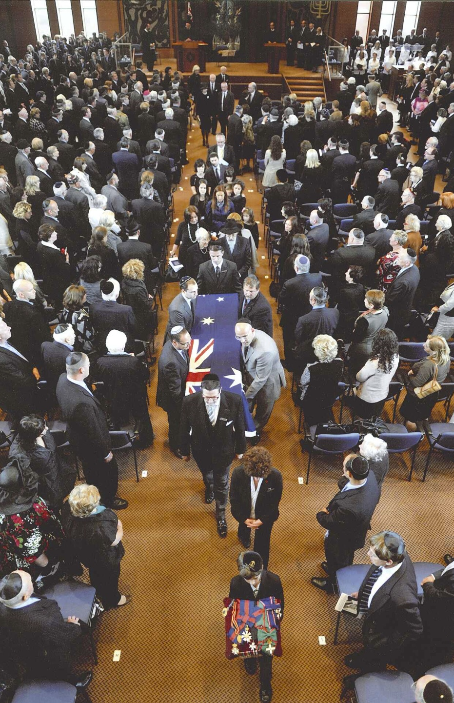 State Funeral for Former Governor-General Sir Zelman Cowen.