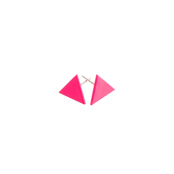 Equilateral Triangle Stud Earrings   Sian Evans  - £30.00