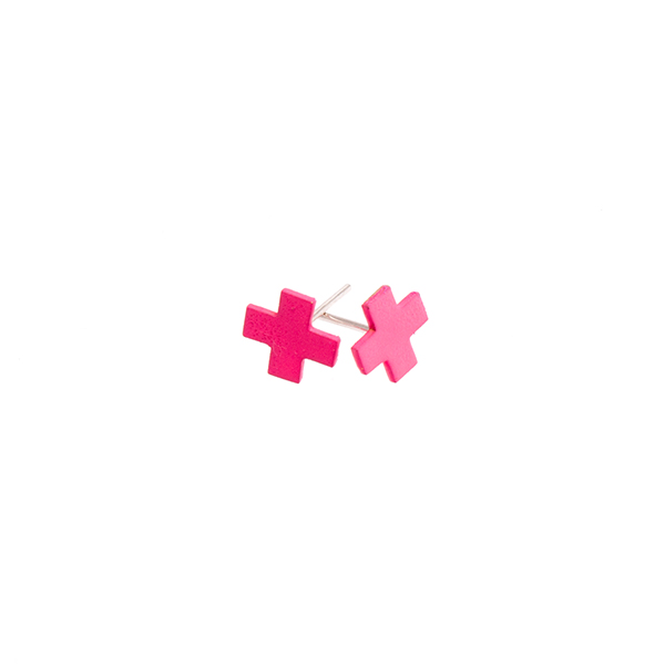 Cross Stud Earrings   Sian Evans  - £30.00