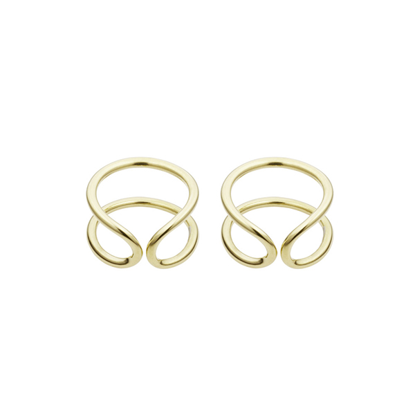 Original Gold Earrings  Coops London - £125.00