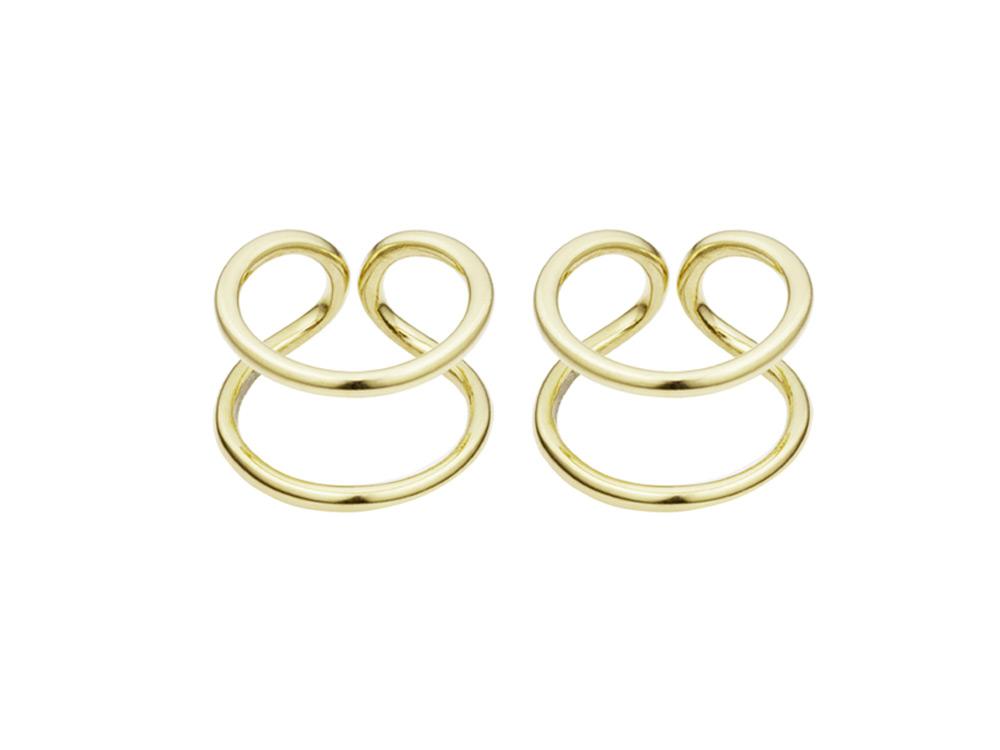 Coops London, Original Gold Earrings £125