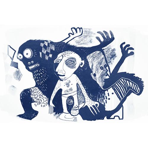 Fabric Lenny - Gorilla