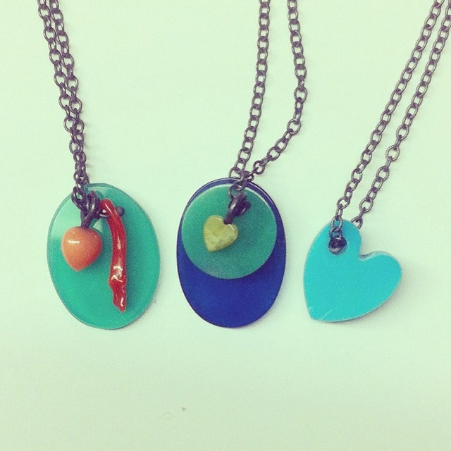 New for Spring #colourpopping stones #turquoise #chrysoprase #coral #agate #brights on #18ctgold or #blackrhodium