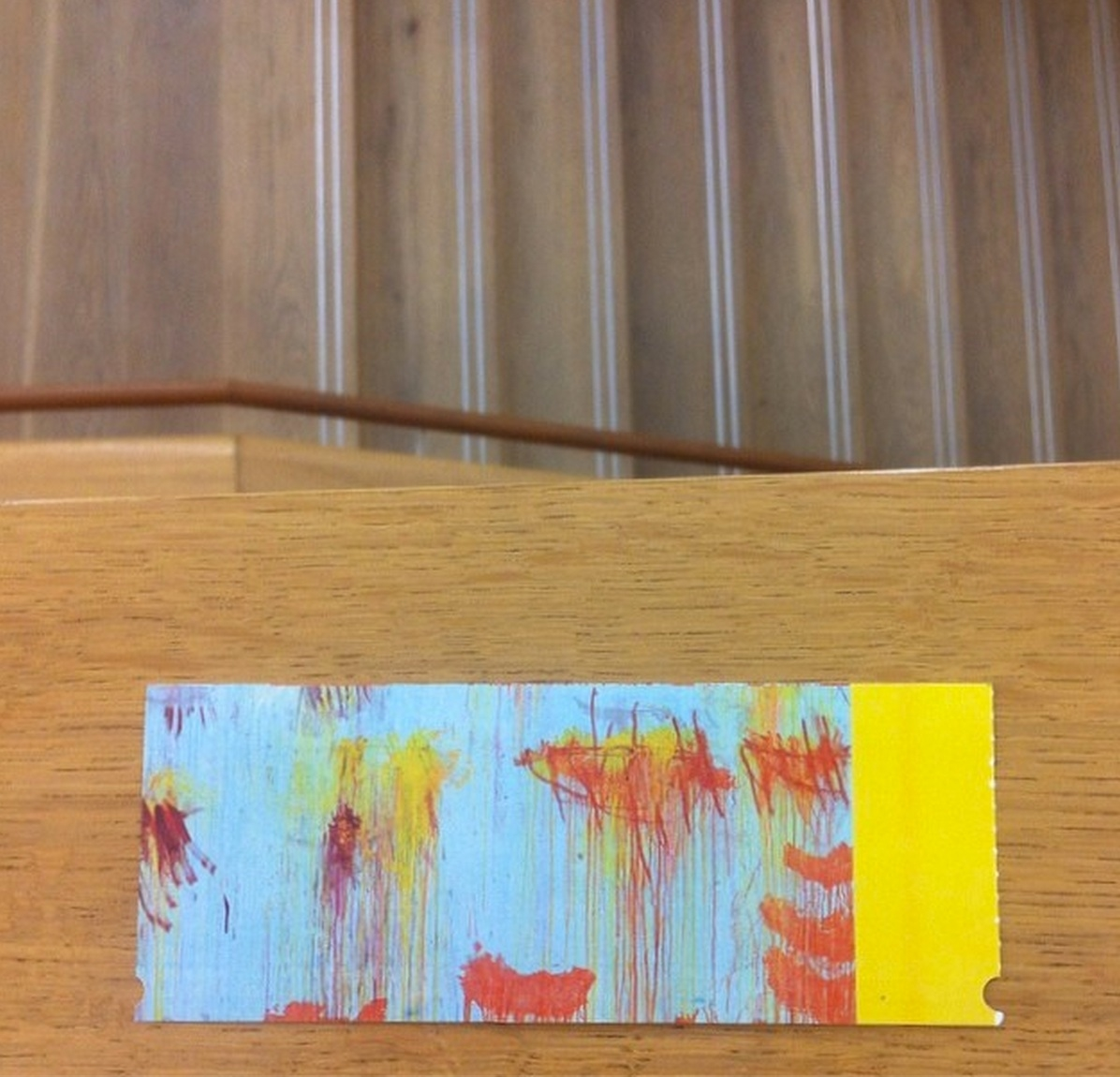 Museum Brandhorst Interior with Cy Twombly Ticket