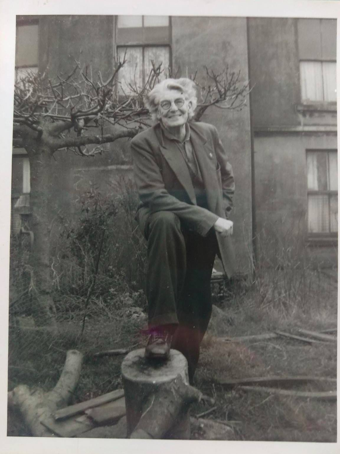 Joe at home in the 1950s
