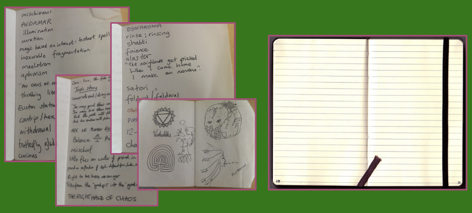 Snippets from my notebooks