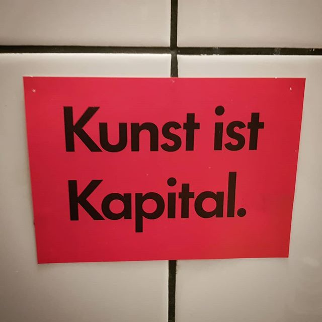 Found in the adorable bathroom of a tiny art cafe in a small German town. I visit the cafe every so often & always feel energised by this particular shade of pink.