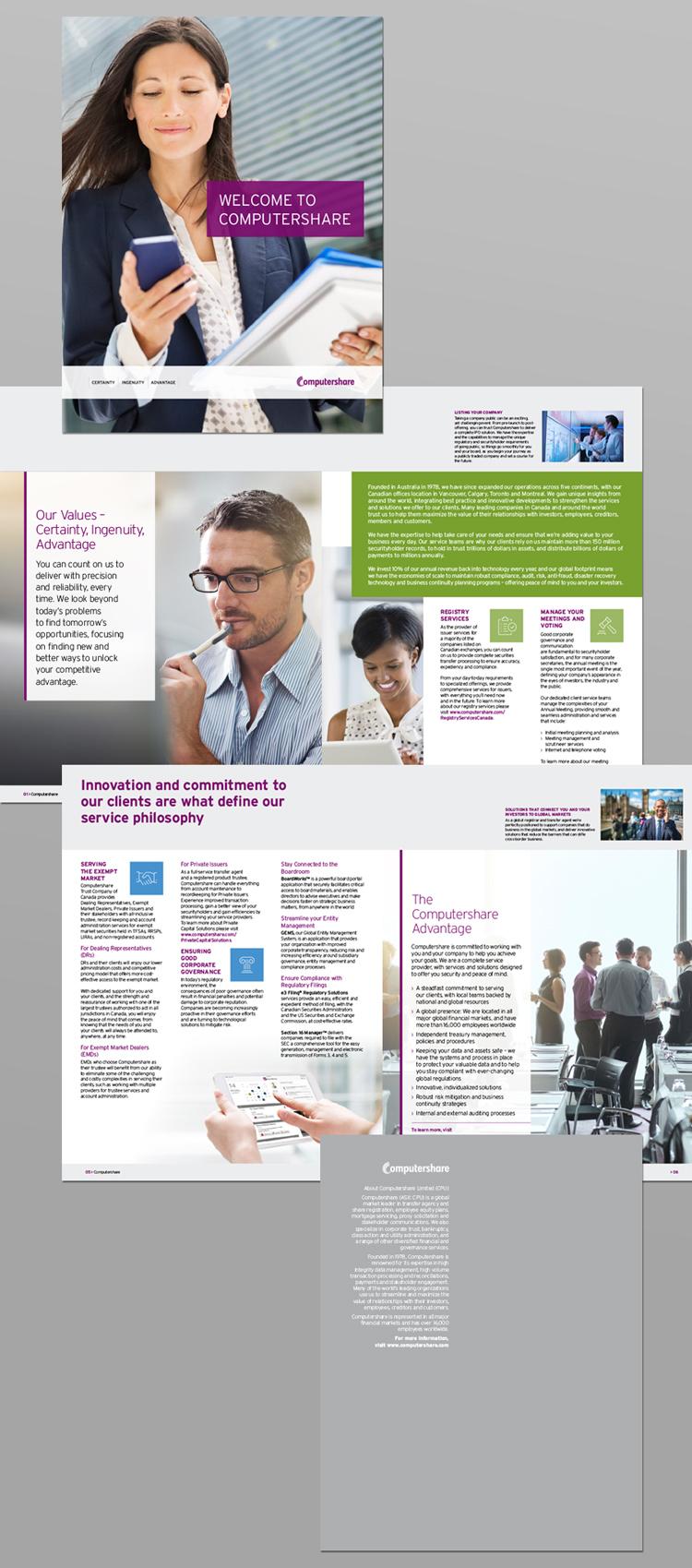Financial Marketing Brochure