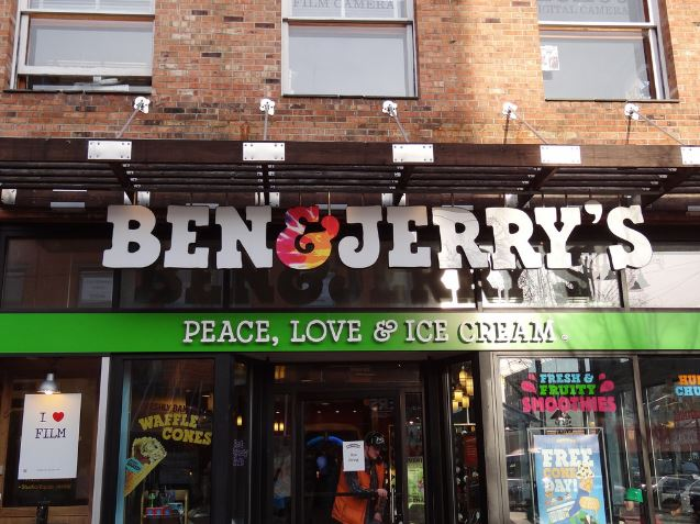 Ben & Jerry's ice cream - SOLD in settlements