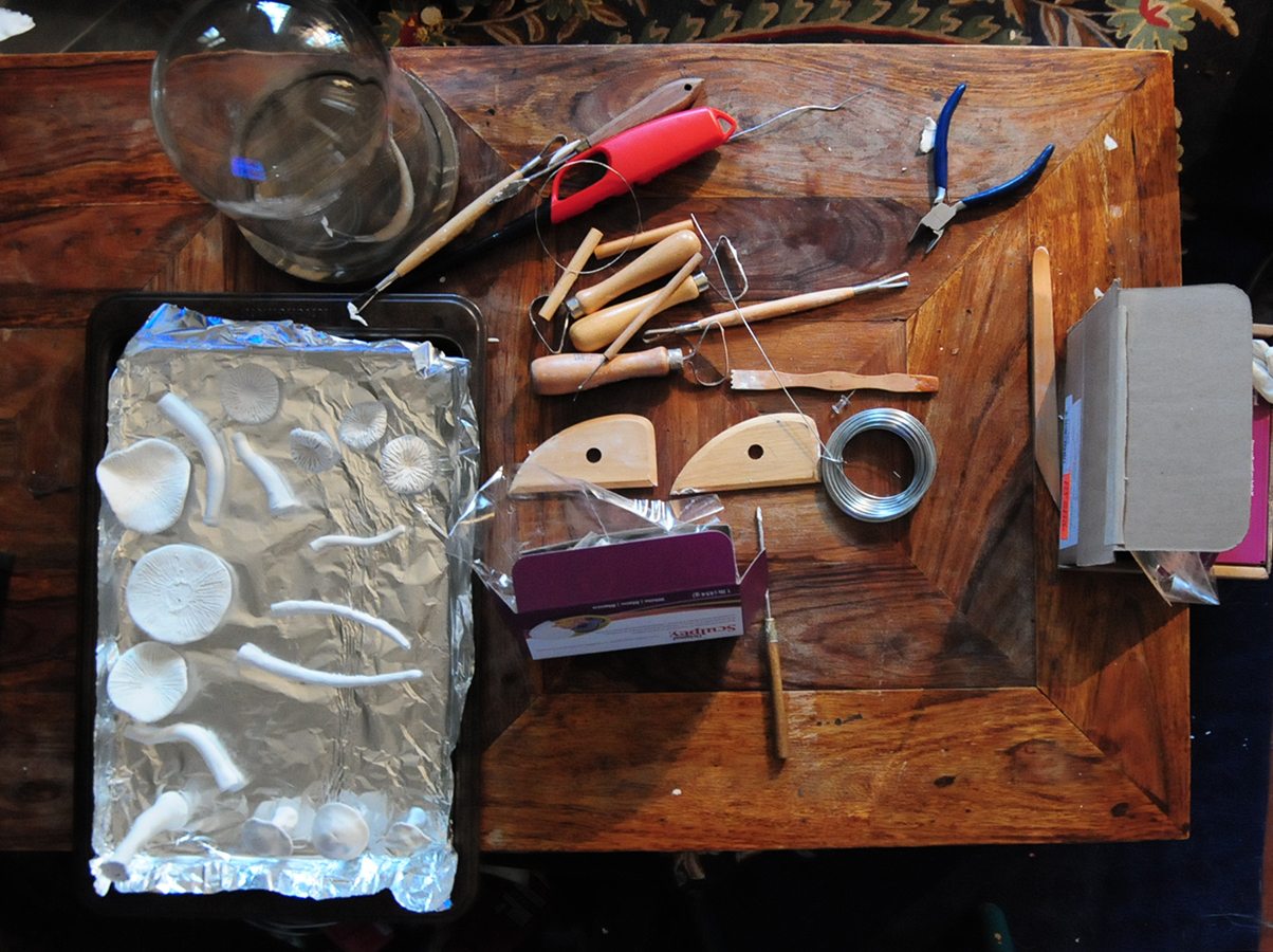 Work table and tools