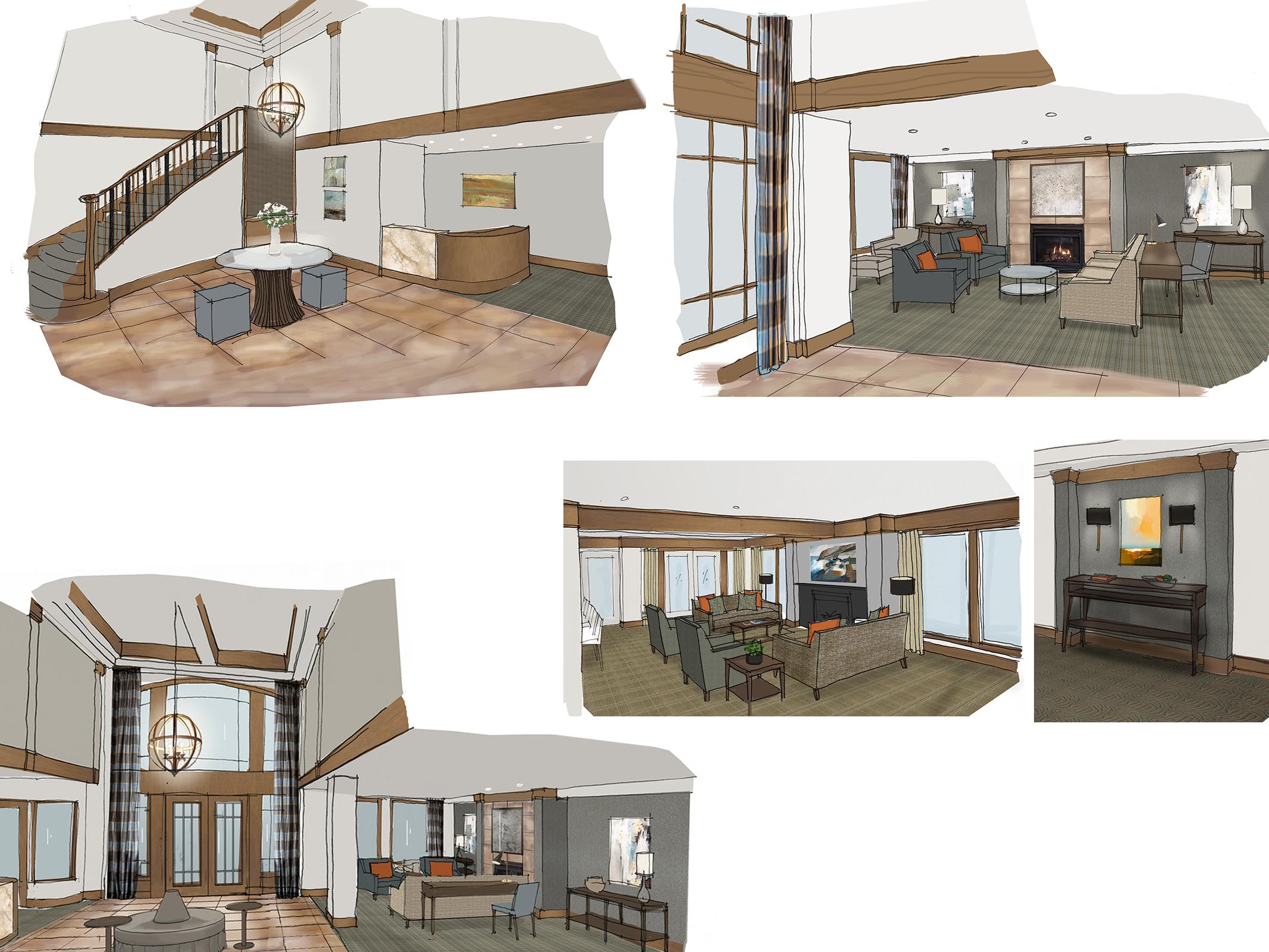 Ballard Place Condominiums : Schematic design