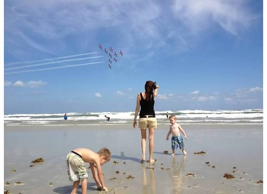 Daytona Beach Wings and Waves Airshow (taken with an iPhone4S)