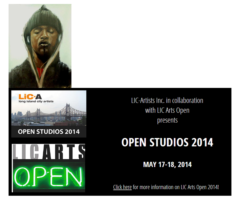 Come visit my NEW studio and see my NEW paintings!     Reis Building @ 43-01 22ndStreet, studio 341 on the 3rdfloor, Long Island City    (by subway: N or Q or 7 to Queensboro Plaza)     Go to the website for more details and a list of all the artists participating in the Open Studio weekend: http://licartsopen.org
