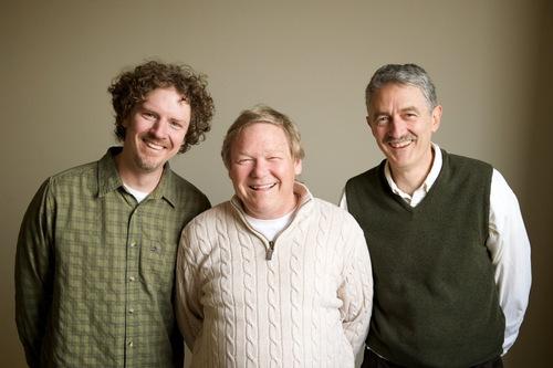 Steve Rossow, Steve Sirr, M.D., and John Waddle