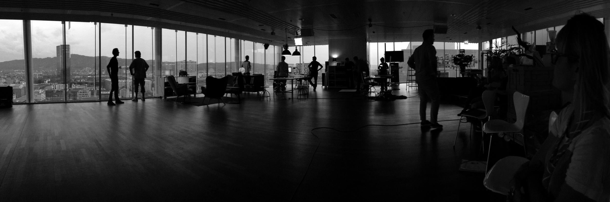 Making of Photo Swisscom Tower