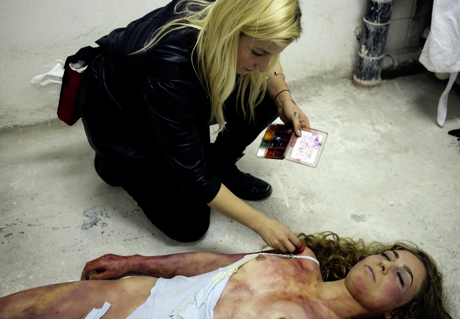 Geschändete Leiche