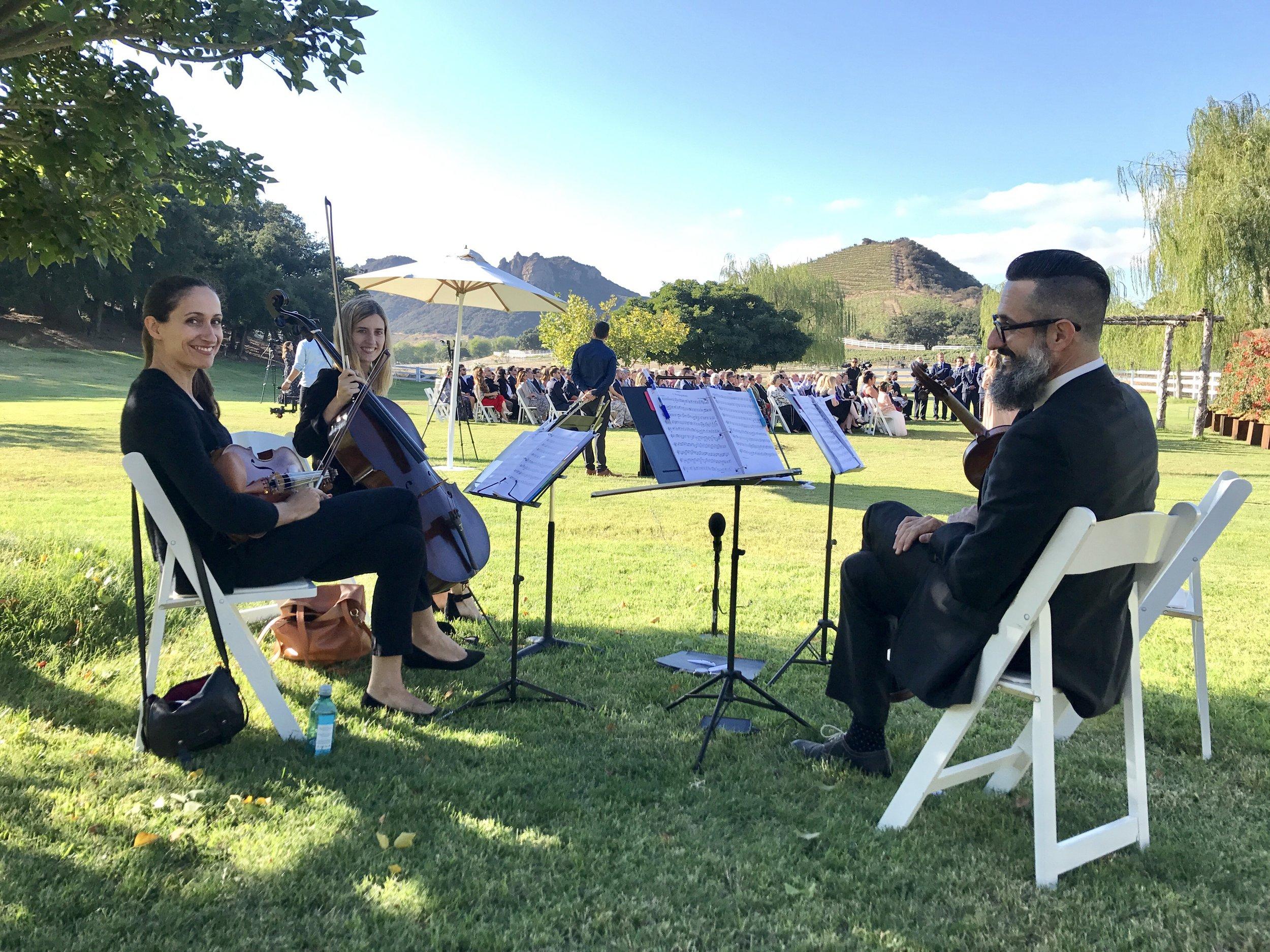 Masek Music performing in Malibu, September 2017